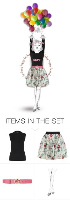"""Happy Birthday September Babies !"" by lillibunneh ❤ liked on Polyvore featuring art"