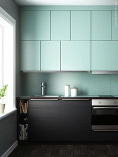 Pour ou contre ? Les cuisines bicolores… | www.decocrush.fr - @decocrush