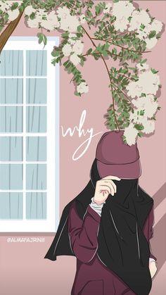 Cartoon Cartoon, Hijab Cartoon, Cartoon Girl Drawing, Cute Girl Wallpaper, Cute Wallpaper Backgrounds, Muslim Pictures, Hijab Drawing, Islamic Cartoon, Islamic Girl