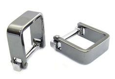 Innovative Wrap Cufflinks Gun Metal Rudolph Alexander. $49.99. Save 50% Off!