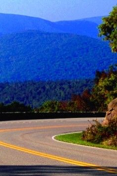Skyline Drive, Shenandoah National Park, Virginia I hear the drive is beautiful, takes about 3 hours to drive the whole thing, can't wait till this summer to see! :)