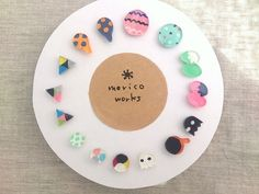 いろいろピアスぜんぶセット Diy Projects To Try, Crafts To Make, Diy Crafts, Art N Craft, Craft Work, Handmade Accessories, Handmade Jewelry, Shrink Plastic Jewelry, Biscuit