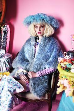 Sorbet colour fashion photo