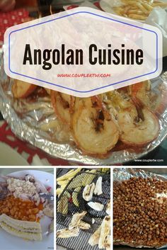 A taste of Angolan cuisine. A peep to the principal street food, main dishes and desserts. New flavors with exotic ingredients.