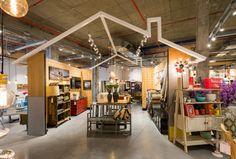 Betili concept stores by Studio Samuelov, Beer-Sheva – Israel Design Furniture, Furniture Sale, Kitchen Furniture, Visual Merchandising, Supermarket Design, Milk Shop, Branding, Store Displays, Showcase Design