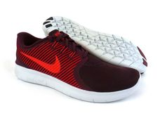 5ec8e6f2f188 Nike men s Free RN Commuter running shoes sneakers trainers Night Maroon    Red  Nike