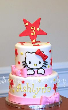 Hello Kitty cake by Sugar Therapy