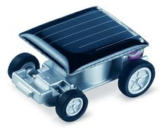 YUNA Mini Solar Powered Robot Racing Car Educational Vehicle Funny Gadget Gifts Toys *** More info could be found at the image url. (This is an affiliate link and I receive a commission for the sales) Solar Panel Kits, Best Solar Panels, Solar Panel System, Panel Systems, Solar Energy System, Solar Car, Diy Solar, Solar Powered Toys, Solar Projects