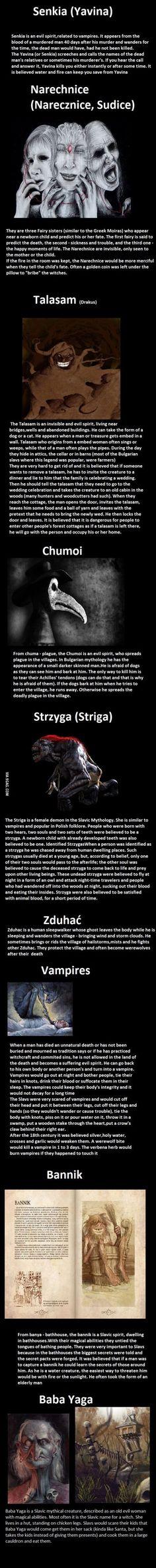 Slavic Mythology Part 2 (hope you guys enjoy it, I certainly did while making it)
