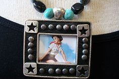 Sagebrush Sirens: Cowgirl Pinup Necklace