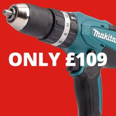 Makita G-Series Combi Drill in Case with 70 Accessories x Battery) The Combi Drill is part of the G-series range from Makita. Makita Power Tools, Mechanical Gears, Noise Sound, Workplace, Drill, Handle, Metal, Accessories, Hole Punch