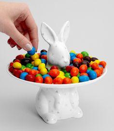 Porcelain Rabbit Dessert Platter