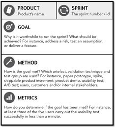 Romans Sprint Goal Template #agile #sprint