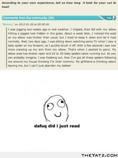 Dafug did I just read..