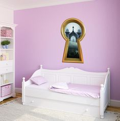 """Enter the magical world of wonderland with our Alice inspired """"Queen of Spades Castle Gate"""" Keyhole Wall Decal. Create the picture perfect Disney inspired whimsical wonderland themed room. We make our wall decals easy to apply, eco-sol safe and removable. Just peel and stick this fabric vinyl to your little one's bedroom, playroom or nursery walls. DIMENSIONS:12 inch: 12"""" Tall x 6.8"""" Wide18 inch: 18"""" Tall x 10.2"""" Wide24 inch: 24"""" Tall x 13.6"""" Wide36 inch: 36"""" Tall x 20.4"""" Wide48 inch: 48"""" Tall x 3d Wall Decals, Removable Wall Stickers, Flower Wall Stickers, Disney Wall Stickers, One Bedroom, Kids Bedroom, Bedroom Sets, Nursery Room, Narnia Lamp Post"""