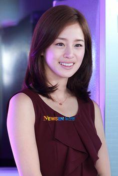 kim tae hee hairstyle - Google 検索