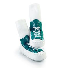 99aa0647234 Mocc Ons are the moccasin style slipper socks from the company that brought  you Sock ons. Mocc Ons ensure babies and toddlers have warm and comfor .