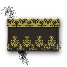 "MacBook Air 13"" Sleeve *Dark Lily by KLEBER.  LILY .ROCKs. BAROCK. Sleeve Royal for Fashion- Lover"