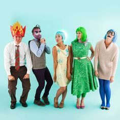 How to Make Inside Out Characters for an Epic Group Halloween Costume | Brit + Co