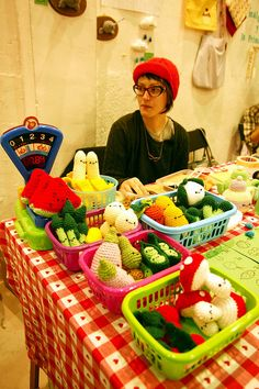 amigurumi fruits & vegetables