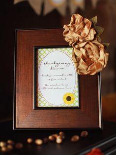 Sunflower-Themed Thanksgiving Dessert Buffet : Decorating : HGTV