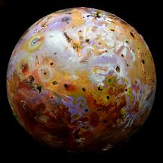 Wow! Giant Volcanoes Rock Jupiter's Moon Io