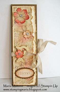 Maria's Stamping Station: Retiring Stamp Sets: Awash with Flowers and Vintage Vogue
