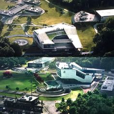 Avengers Facility Comparison between Civil War and Homecoming. Wanda Avengers, Avengers Fan Art, Avengers Quotes, Avengers Imagines, Avengers Cast, Marvel Avengers, Futuristic Home, Futuristic Architecture, Avengers Headquarters