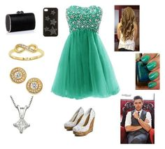 Prom with Zac by harrystylesandliampayne on Polyvore featuring mode, Jimmy Choo, Roberto Coin, City x City and LUA