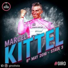 3nd stage Giro d'Italia 2016 @giroditalia with @repostapp. ・・・ Marcel Kittel makes it two in final dutch stage #giro