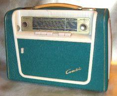The Kurér Portable Radio Radios, Transistor Radio, Vacuum Tube, Record Player, Electric, Vintage, Belle Epoque, Bags, Vintage Comics
