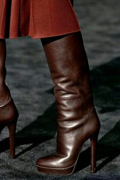 Chocolate Brown Boots
