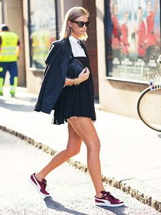 Tine Andrea of The Fashion Eaters | Our 2015 Best Dressed Blogger List via @WhoWhatWear