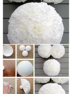 DIY Pom Pom Decorations | Baby Shower Decorations for Girls | Click for Tutorial