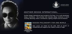 """With """"accent on timelessness and elegance"""", Pal Pang is heading Another Design for ONE WORLD #villas and sky bungalows.  Filled with the world's best hotels and mansions, the Another Design portfolio substantiates how the new Art Direction will create magic in #India."""