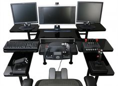 14 Custom Gaming Computer Desk Images Ideas