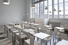 Artek - Projects - Contract Projects - Cafe Cubus Ateneum, Helsinki Finland