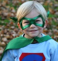 """SO CUTE.. plus they do DAD capes too. I can so see the DH """"flying"""" around in one. Yup he is a BIG KID!"""