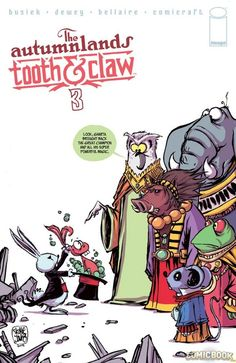 The Autumnlans: Tooth & Claw #3 by Skottie Young *