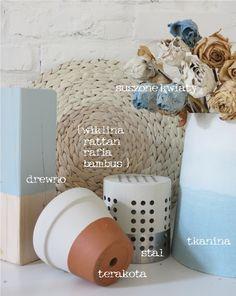 www.mychalkhouse.blogspot.com drewno, stal, plecionki, tkaniny, a nawet suszone róże, farba kredową pomalujesz wszystko, możliwości są nieograniczone...