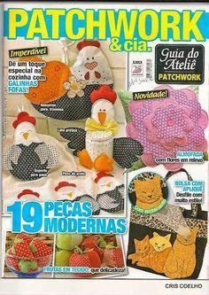 Revista gratis de patchwork para la cocina