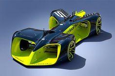 無人運転レース『ロボレース』:レースカーの画像を公開  [F1 / Formula 1]