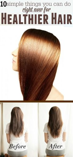 10 Amazing Tips for Healthy Hair - Extra Beauty Tips