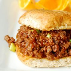 Good sloppy joe recipe. I made this last night and these are the BEST sloppy joes I have EVER had!!!