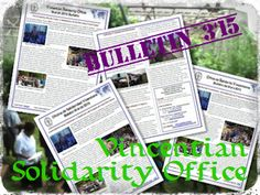 Vincentian Solidarity Office - Bulletin, March 2015 #VincentianSolidarity #Famvin #CMGlobal http://famvin.org/en/2015/03/17/vso-bulletin-march-2015/