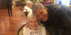 George Clooney cumple sueño de fan de 87 años...