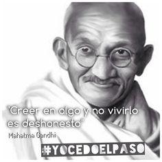 ¿Soy consecuente con mis valores? Seamos el cambio #YOCEDOELPASO  www.facebook.com/CampanaYoCedoElPaso