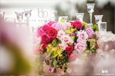 pink garden wedding at L'Auberge Del Mar.  beach wedding by Blush Botanicals.  Photo by True Photography, coordination by EverAfter Events