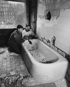 White House bathroom renovation.