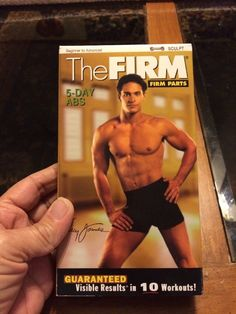 The Firm : 5-Day Abs Workout VHS Video Out Of Print  | eBay